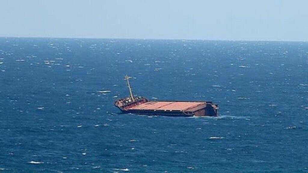 غرق شدن شناور و کشتی و قایق