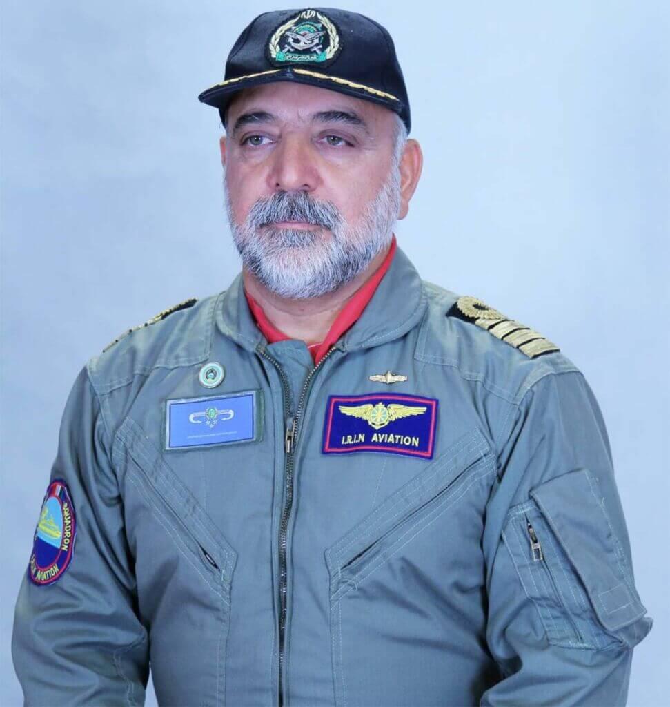 ناخدایکم خلبان شکسوت میرمنصور سیدقریشی