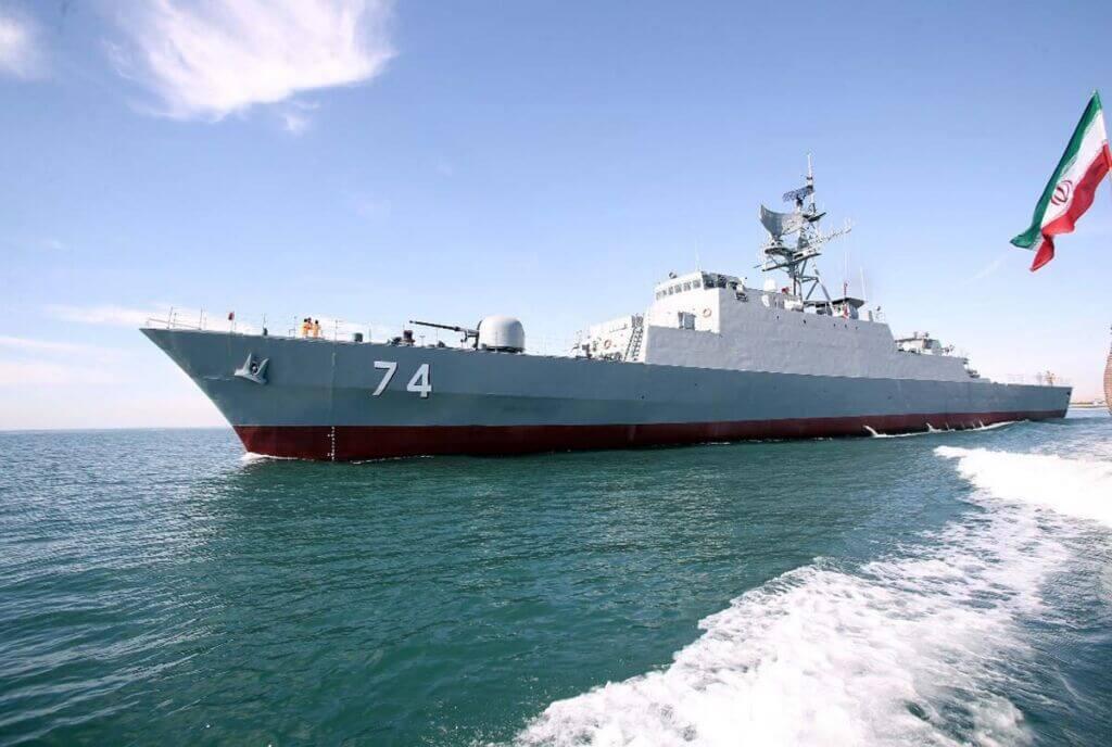 ناو سهند با کد بدنه 74 از کلاس موج نیروی دریایی ارتش