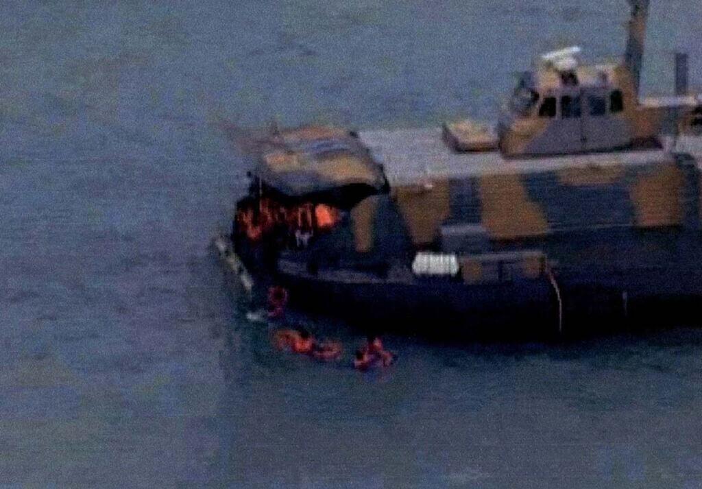 نجات پرسنل توسط هواناو نیروی دریایی ارتش در عملیات راهبک