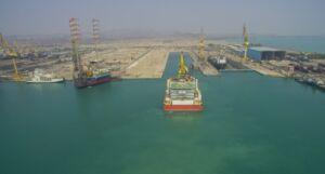 تعمیر شناور لولهگذار Sea-master در یارد کشتی سازی ایزوایکو