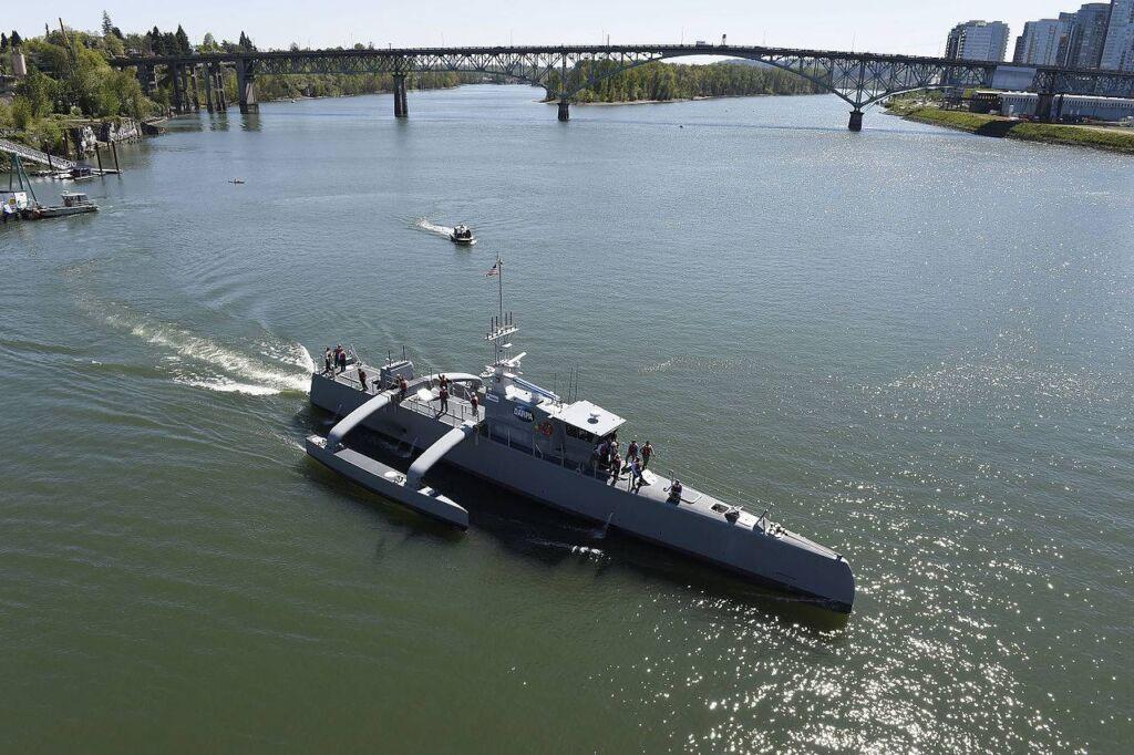 شکارچی دریا نیروی دریایی آمریکا-sea hunter us navy