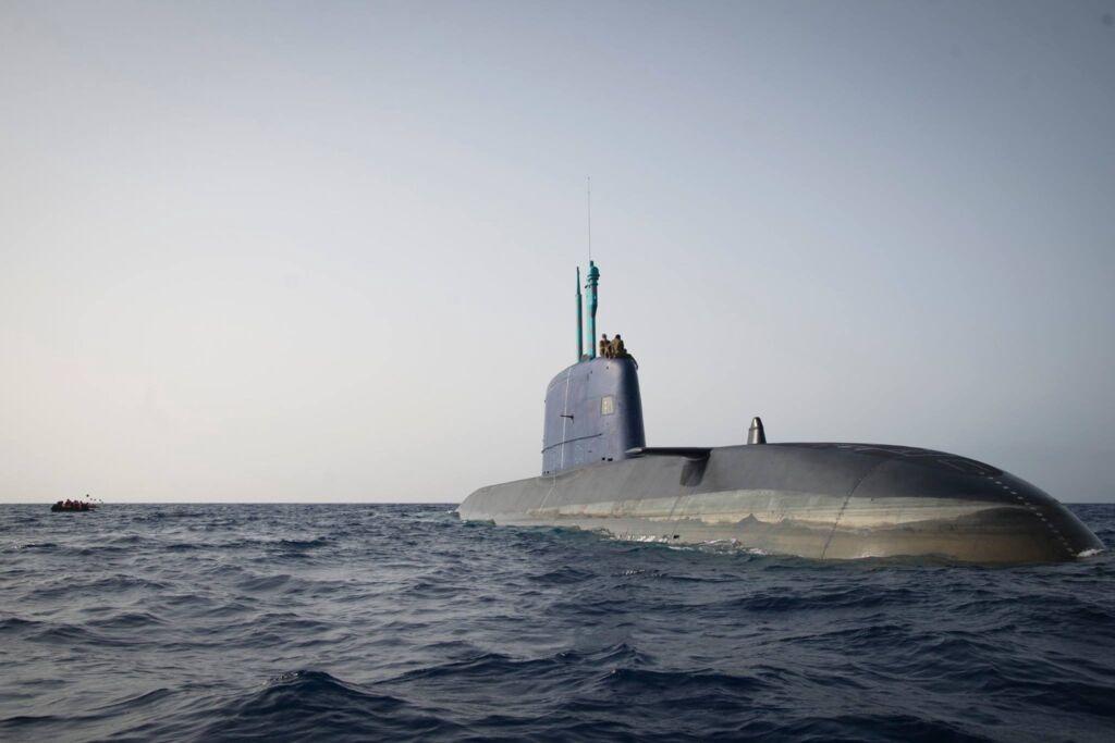 زیردریایی کلاس دلفین نیروی دریایی اسرائیل ساخت آلمان