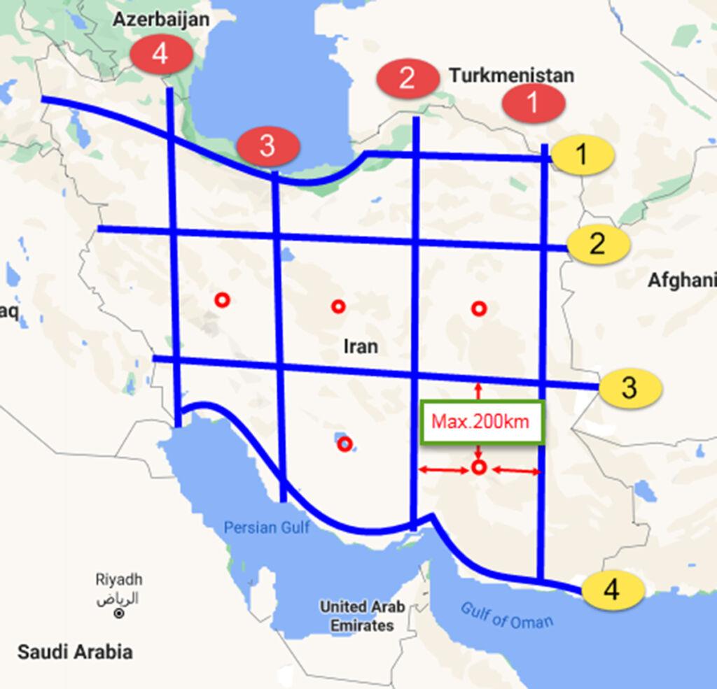 طرح پیشنهادی ساخت آزادراه جهت توسعه سواحل و بنادر جنوب