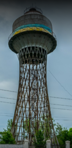 برج آب شهر میکالیوف اوکراین