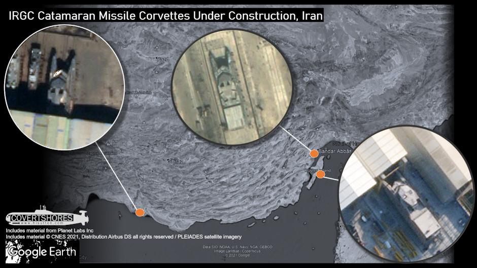 ساخت سه شناور از کلاس شهید سلیمانی در بوشهر قشم و بندرعباس