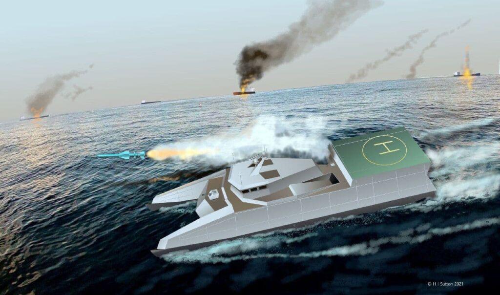قایق موشک انداز شهید سلیمانی نیروی دریایی سپاه