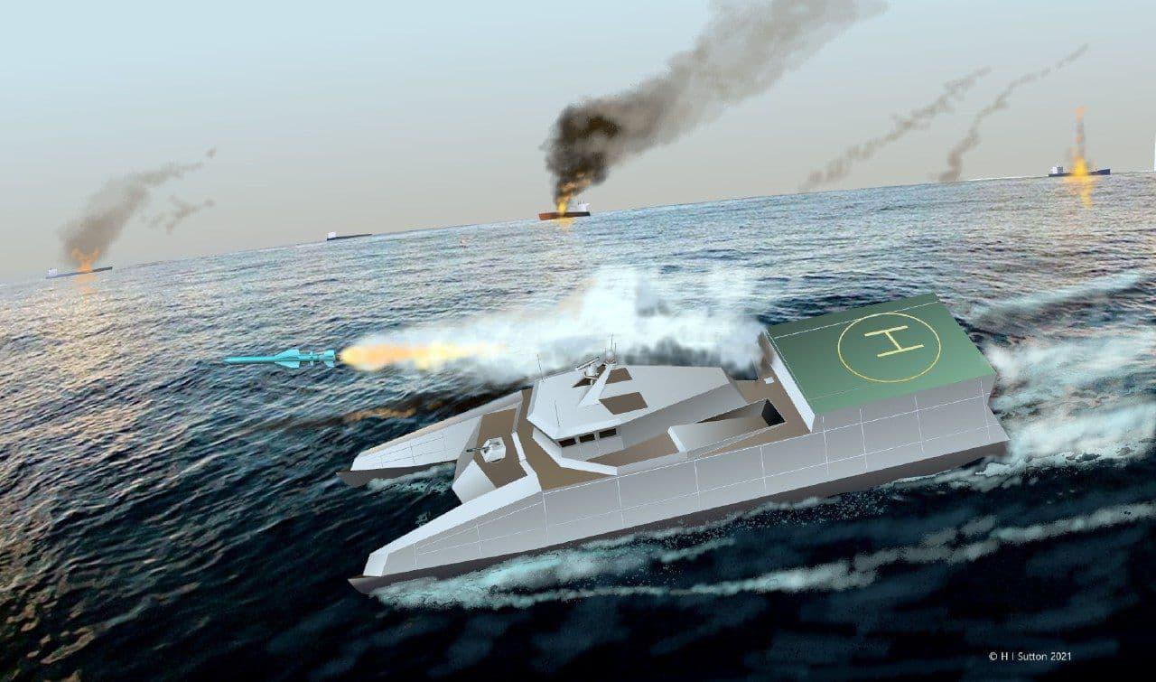 قایق موشک انداز کلاس شهید سلیمانی نیروی دریایی سپاه